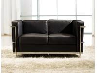 Sofa Le Corbusier negro