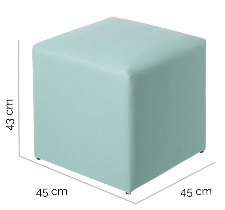 Puf IO aluminio verde