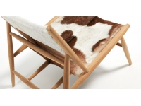 Sillon teka natural cabra