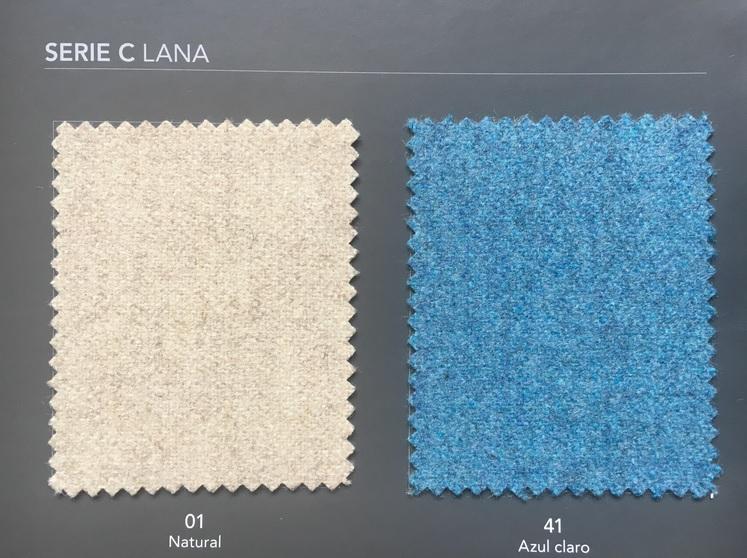 Banco tapizado vintage nordic