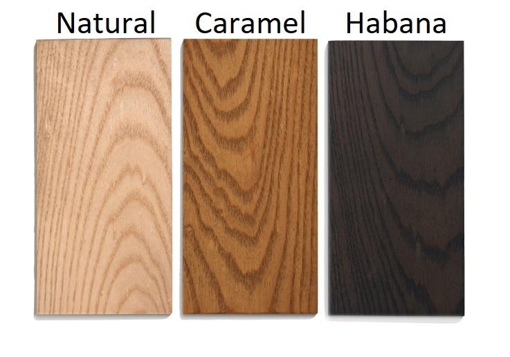 Mesa Nayra madera de fresno caramel DT-100