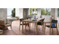 Mesa acacia Stone 160x90