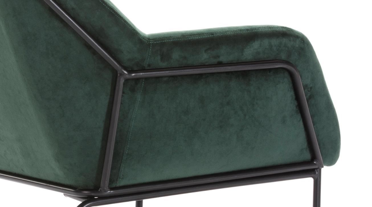 Butaca terciopelo verde viena SL-896