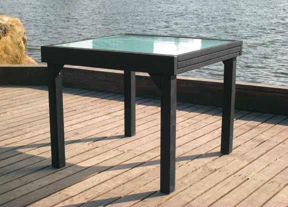 Mesa terraza y jardin aluminio extensible calpe antracita for Mesa jardin extensible