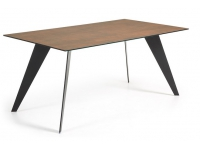 Mesa Key ceramic iron corten 160x90