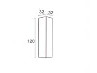 Modulo de colgar vertical 120cm