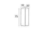 Modulo de colgar vertical 75cm