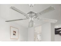 Ventilador techo blanco clasico 5 palas 50425 BL