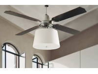 Ventilador techo pantalla palas reversibles 50984 WE
