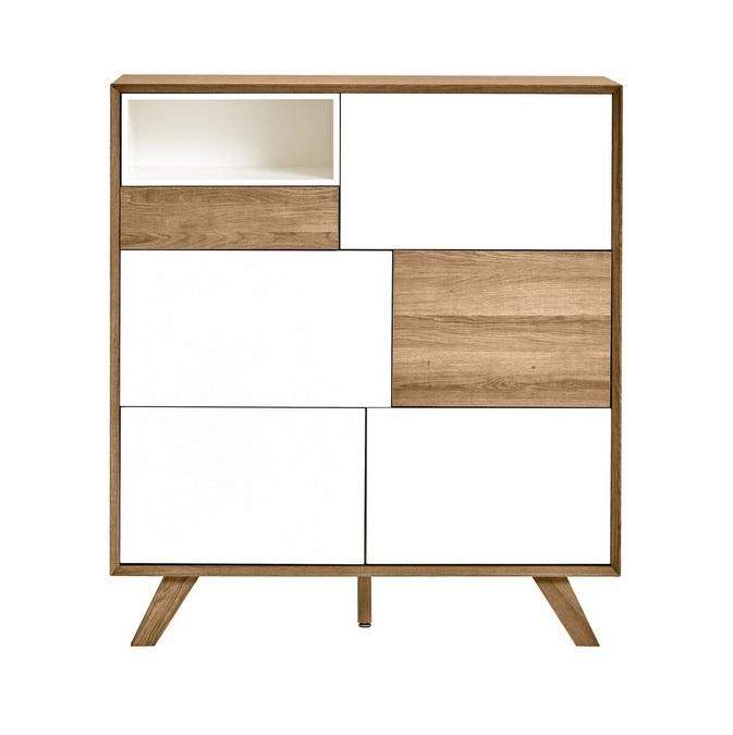 Mueble auxiliar Tivoli roble blanco 100x115
