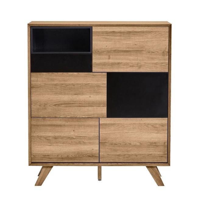Mueble auxiliar Tivoli roble negro 100x115