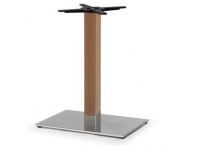Base inox columna haya 60x40cm
