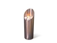 Biochimenea de exterior acero inox