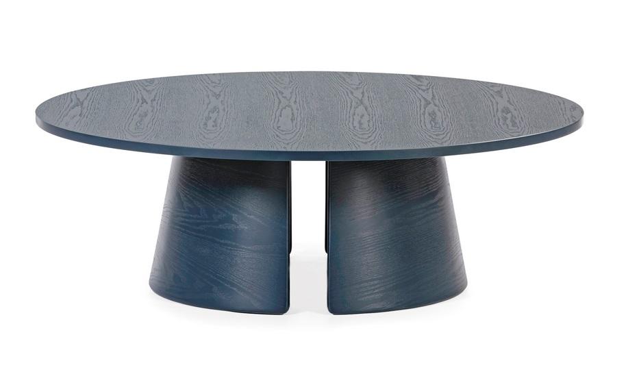 Cep mesa de centro redonda freno azul 110