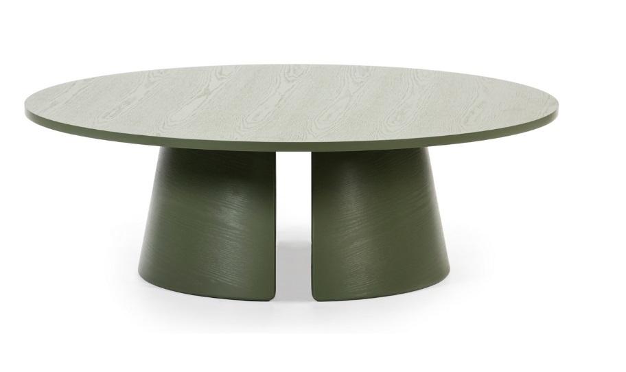 Cep mesa de centro redonda freno verde 110