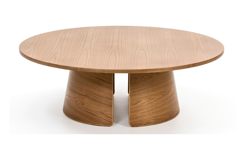 Cep mesa de centro redonda roble 110