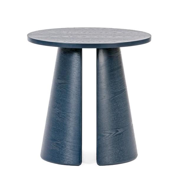 Cep mesa de rincon redonda fresno azul 50