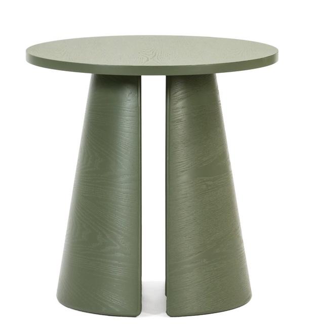 Cep mesa de rincon redonda fresno verde 50