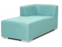 Chaise lounge derecho piel nautica Cabrera