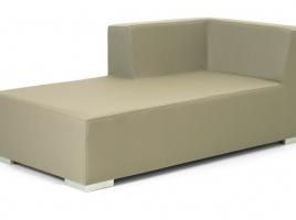 Chaise lounge derecho piel nautica Menorca