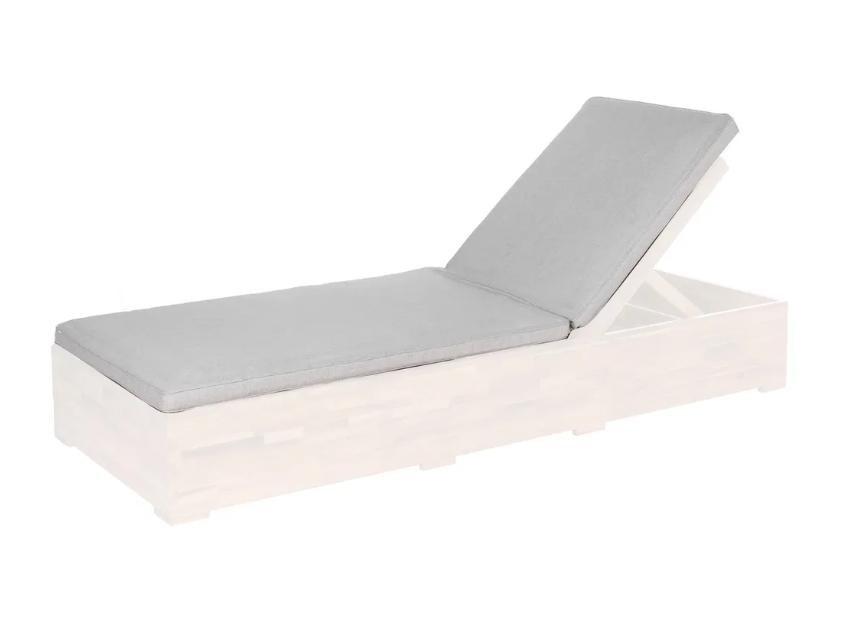 Cojin de cama Norah poliester gris