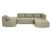 Set modular lounge piel nautica Menorca
