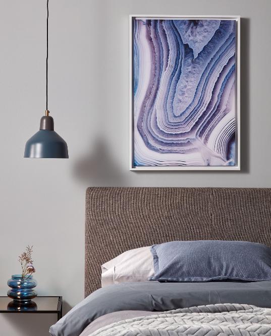 Cuadro Àgata 50x70 cm color lila