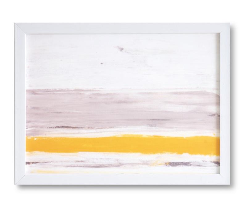 Cuadro Beach blanco 40x30 cm