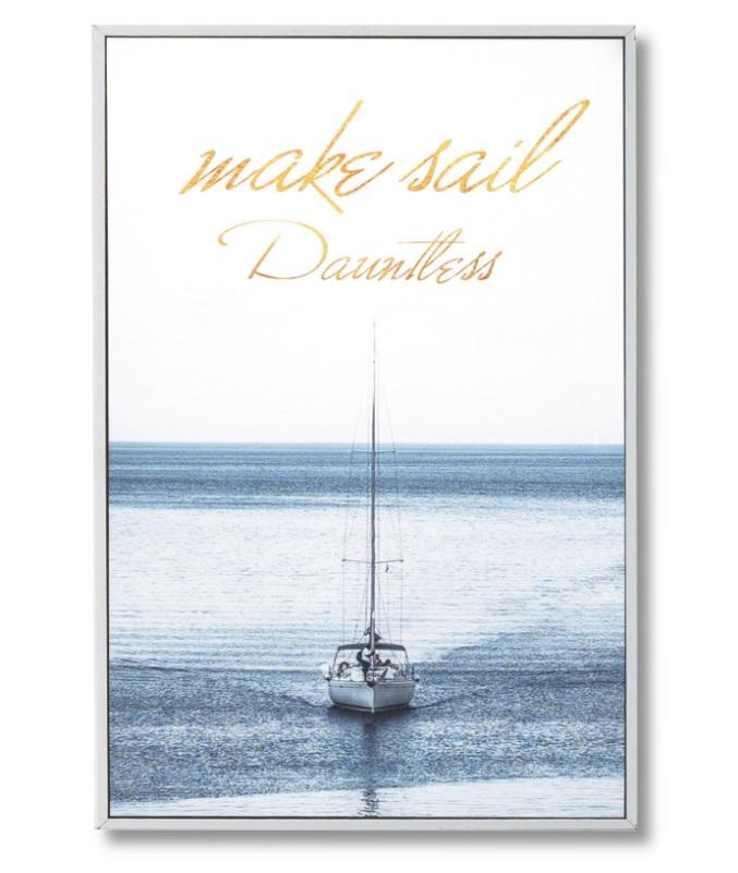 Cuadro Blue Sail 40x60 cm