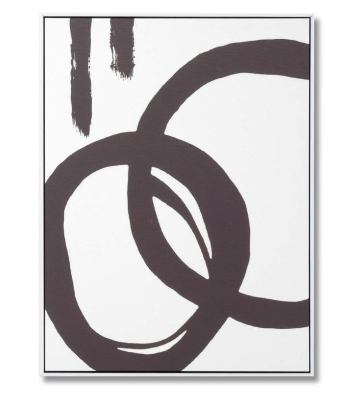 Cuadro Chill 1 blanco 60x80 cm