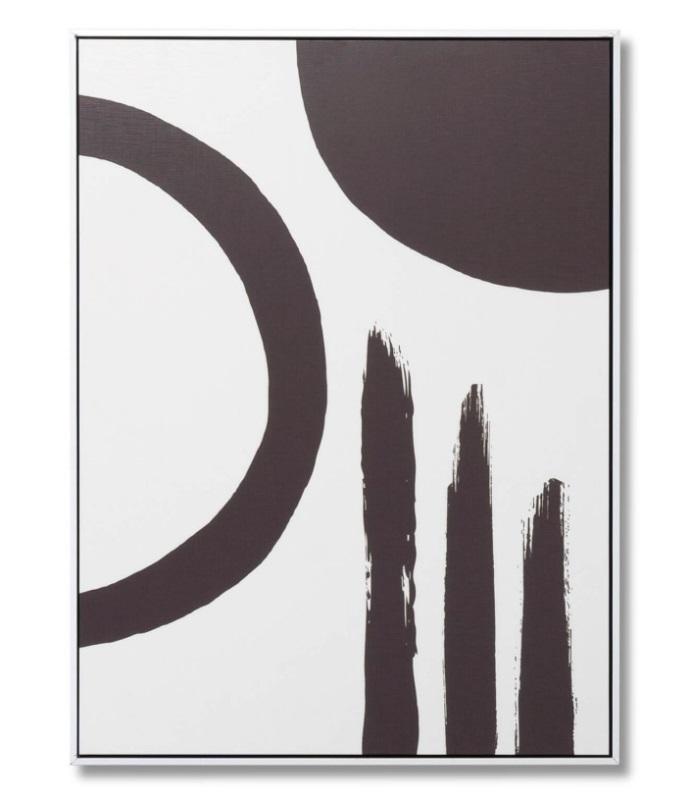 Cuadro Chill 2 blanco 60x80 cm