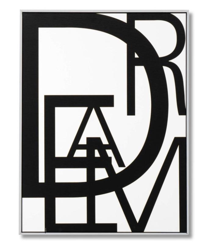 Cuadro Dream blanco 60x80 cm