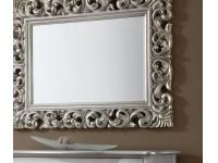 Espejo barroco plata 120x90