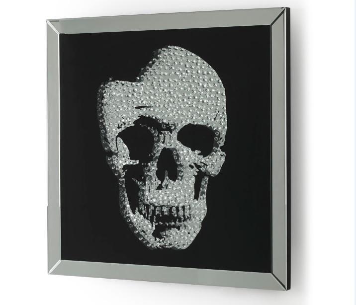 Cuadro espejo skull Calavera