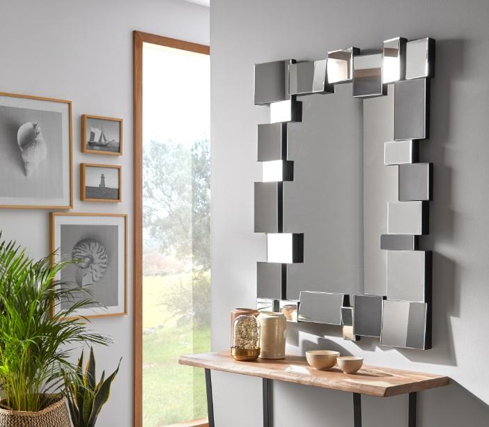 Espejo marco relieve E-108