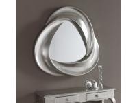 Espejo plata viejo redondo 95 cm