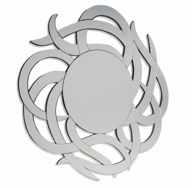 Espejo redondo de diseño 120 cm