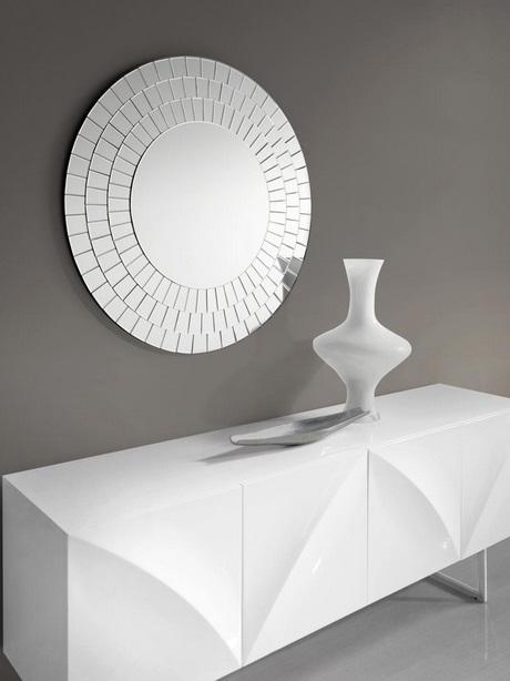Espejo moderno redondo E-122