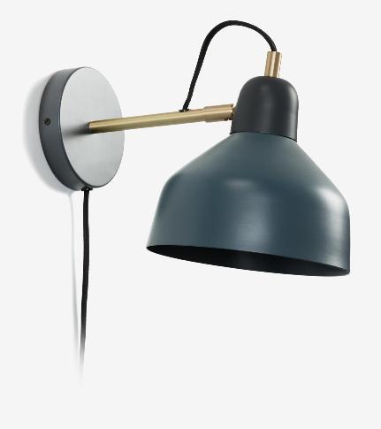 Lampara aplique Briz en metal