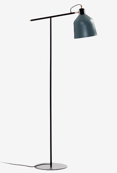 Lampara de pie Briz en metal