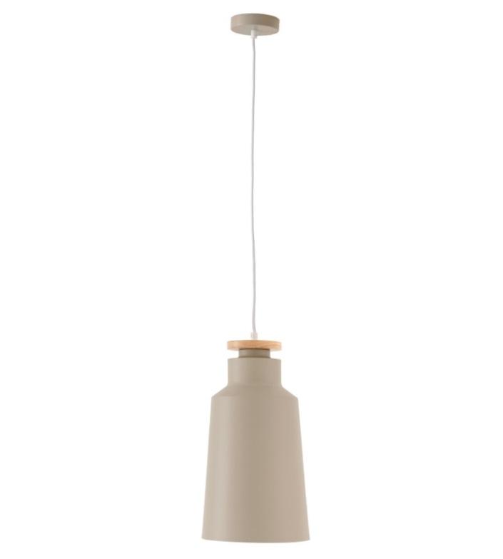 Lámpara Alcora en aluminio color beige