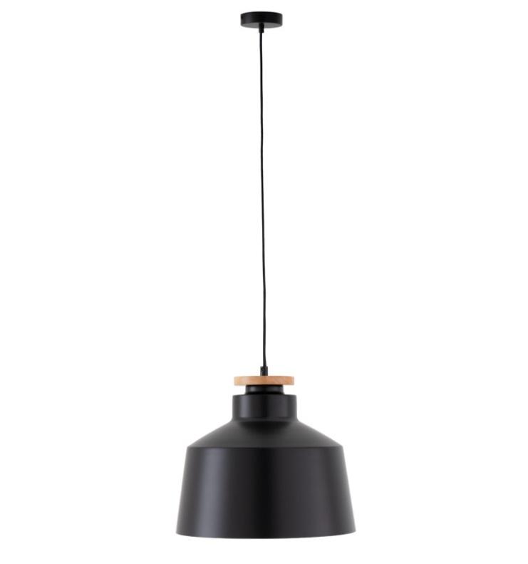 Lámpara Artana en aluminio color negro