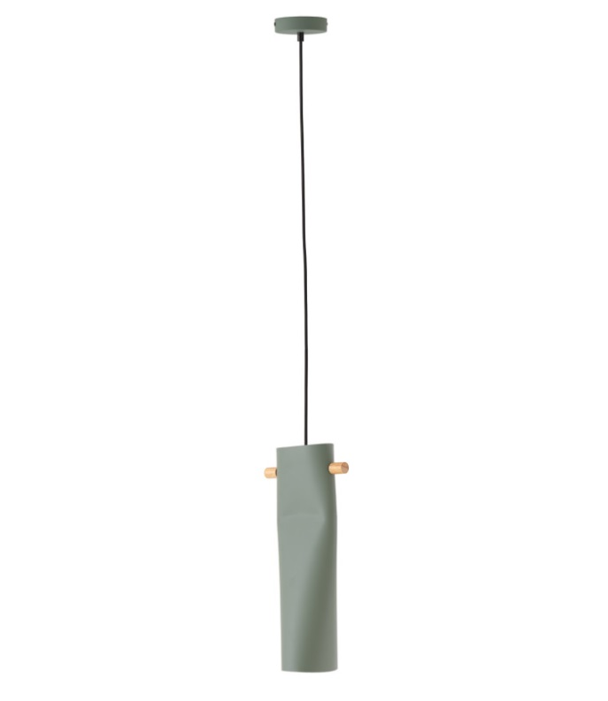Lámpara de techo Altea en aluminio de color verde
