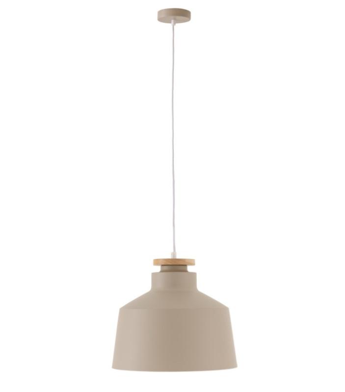 Lámpara Artana en aluminio color beige