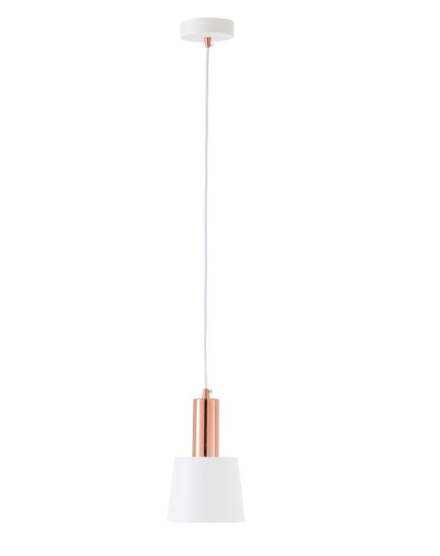 Lámpara Marcen de cemento y metal