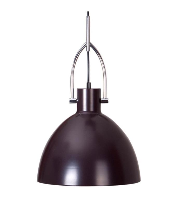 Lámpara Simat en metal de color café