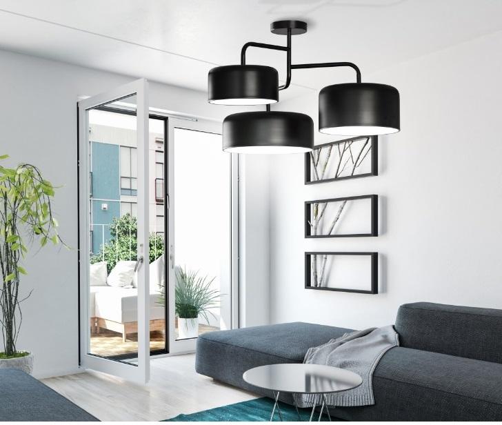 Tono lampara de techo metal