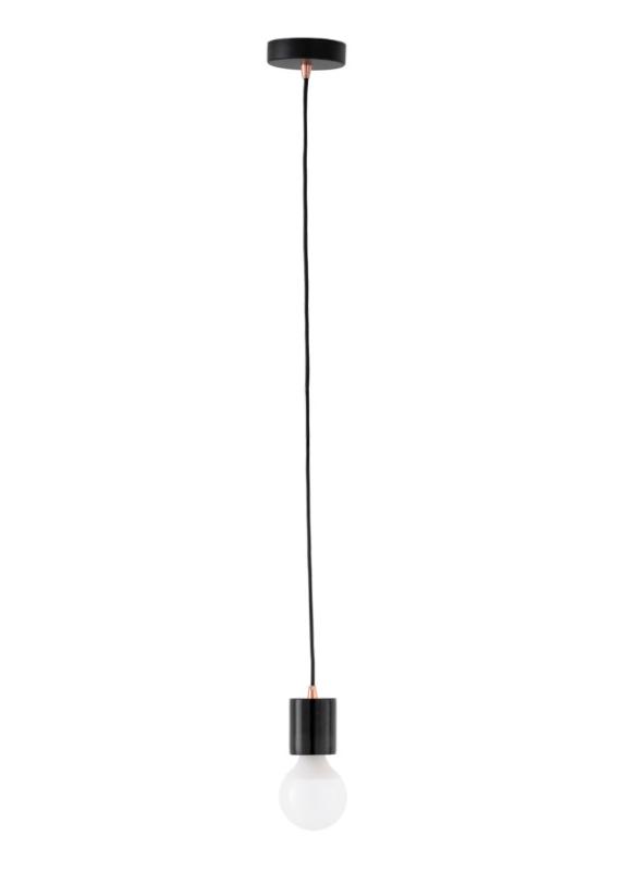 Lámpara Zeru pantalla de marmol negro