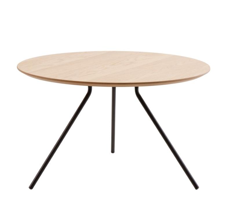 Mesa centro David madera roble 75 cm