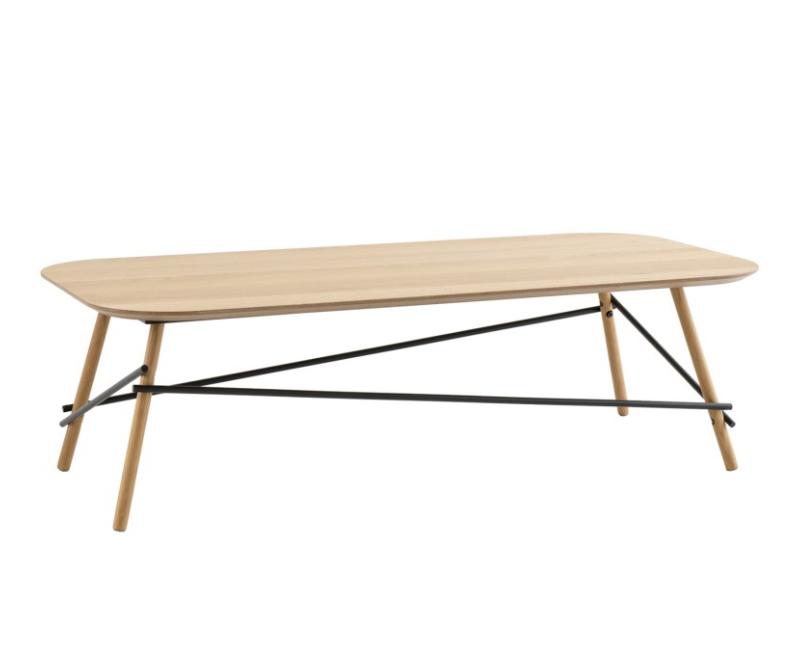 Mesa de centro Ernest madera roble 120x60 cm